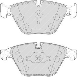 Brzdové destičky FERODO PREMIER FE FDB4382