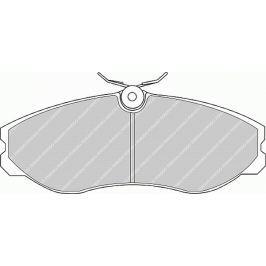 Brzdové destičky FERODO PREMIER FE FDB909