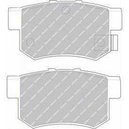 Brzdové destičky FERODO PREMIER FE FDB956