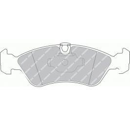 Brzdové destičky FERODO SL (Target) FE FSL1067