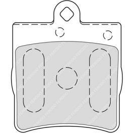 Brzdové destičky FERODO SL (Target) FE FSL1311