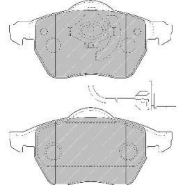 Brzdové destičky FERODO SL (Target) FE FSL1717