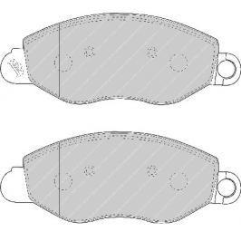Brzdové destičky FERODO FE FVR1461