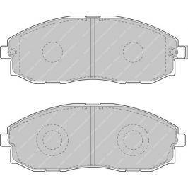Brzdové destičky FERODO Van Range FE FVR1498