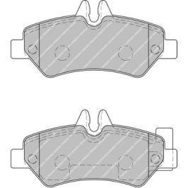Brzdové destičky FERODO Van Range FE FVR1780