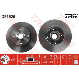 TRW KFZ Ausruestung GmbH Brzdový kotouč DF1529