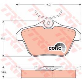 COTEC TRW KFZ Ausruestung GmbH GDB1147 TRW