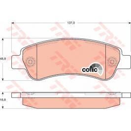COTEC TRW KFZ Ausruestung GmbH GDB1682 TRW