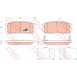 COTEC TRW KFZ Ausruestung GmbH GDB1716 TRW