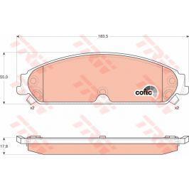 COTEC TRW KFZ Ausruestung GmbH GDB4134 TRW