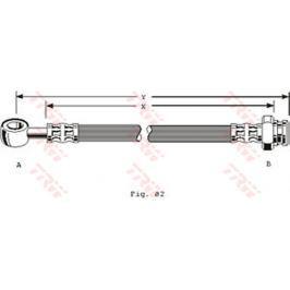 Brzdová hadice PHD156