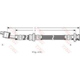 Brzdová hadice PHD480