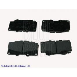 Sada brzdových destiček, kotoučová brzda Automotive Distributors Ltd ADT342160 BLU