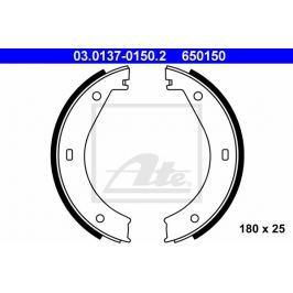 Sada brzdových čelistí pro parkovací brzdu ATE AT 650150