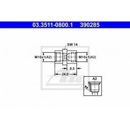 Adaptér brzdového vedení ATE AT 390285