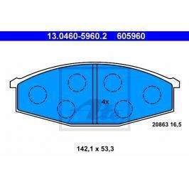 Sada brzdových destiček ATE AT 605960