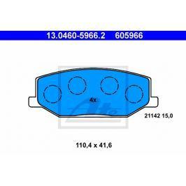 Sada brzdových destiček ATE AT 605966