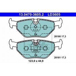 Sada brzdových destiček ATE Ceramic AT LD3605
