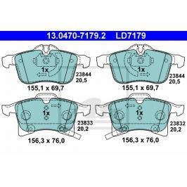 Sada brzdových destiček ATE Ceramic AT LD7179