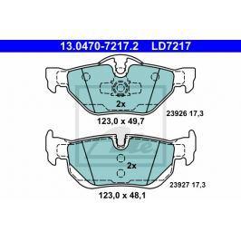 Sada brzdových destiček ATE Ceramic AT LD7217 13.0470-7217.2 ATE