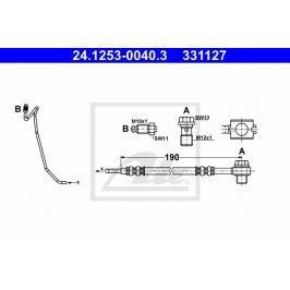 P Brzdová hadice ATE AT 331127