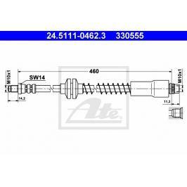Brzdová hadice ATE AT 330555