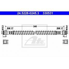 Brzdová hadice ATE AT 330531 Auto-moto