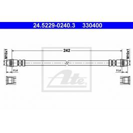 Brzdová hadice ATE AT 330400