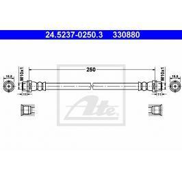 Brzdová hadice ATE AT 330880