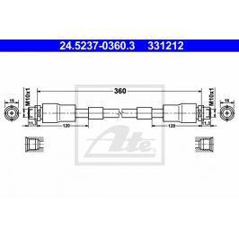 Brzdová hadice ATE AT 331212