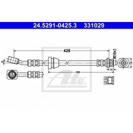 Brzdová hadice ATE AT 331029