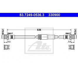 Brzdová hadice ATE AT 330900