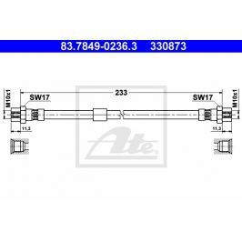 Brzdová hadice ATE AT 330873