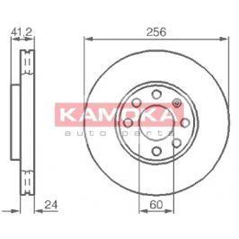 Kamoka Auto Parts Brzdový kotouč 1036808 Auto-moto