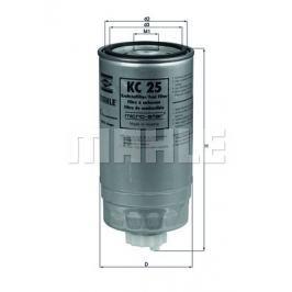 palivovy filtr MAHLE Aftermarket GmbH KC 25 MAH