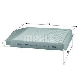 MAHLE Aftermarket GmbH Filtr, vzduch v interiéru MAHLE Aftermarket GmbH LA 54/1 MAH