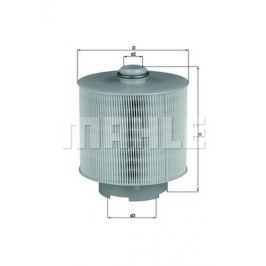 Vzduchový filtr MAHLE Aftermarket GmbH LX 1006/1D MAH