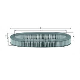 Vzduchový filtr MAHLE Aftermarket GmbH LX 1042 MAH