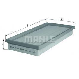 Vzduchový filtr MAHLE Aftermarket GmbH LX 1143 MAH