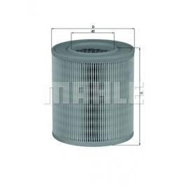 Vzduchový filtr MAHLE Aftermarket GmbH LX 1253 MAH