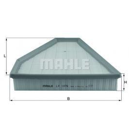 Vzduchový filtr MAHLE Aftermarket GmbH LX 1478 MAH