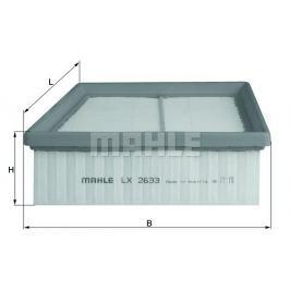 Vzduchový filtr MAHLE Aftermarket GmbH LX 2633 MAH