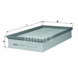 Vzduchový filtr MAHLE Aftermarket GmbH LX 517 MAH
