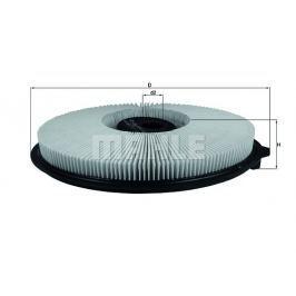 Vzduchový filtr MAHLE Aftermarket GmbH LX 544 MAH