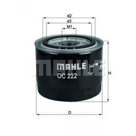 Olejový filtr MAHLE Aftermarket GmbH OC 222 MAH