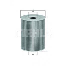 Olejový filtr MAHLE Aftermarket GmbH OX 254D1 MAH