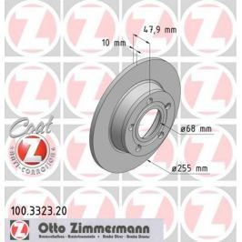 OTTO ZIMMERMANN GMBH Brzdový kotouč 100.3323.20
