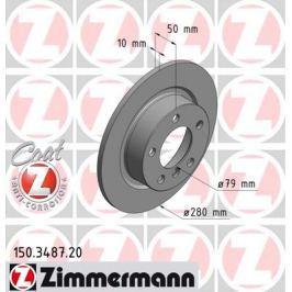 OTTO ZIMMERMANN GMBH Brzdový kotouč 150.3487.20