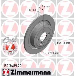OTTO ZIMMERMANN GMBH Brzdový kotouč 150.3489.20