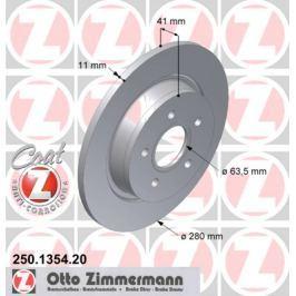 OTTO ZIMMERMANN GMBH Brzdový kotouč 250.1354.20